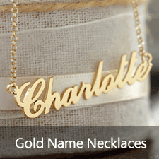 Gold Name Necklaces