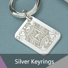 Sterling Silver Keyrings