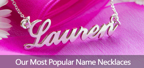 Most Popular Name Necklaces