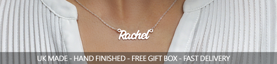See Our Best Selling Name Necklaces