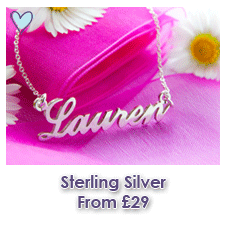 Sterling Silver Name Necklaces